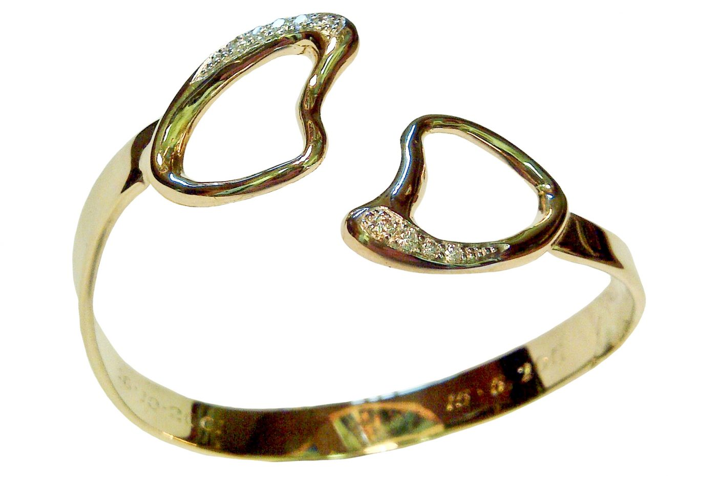 Hearts and Diamonds Bangle