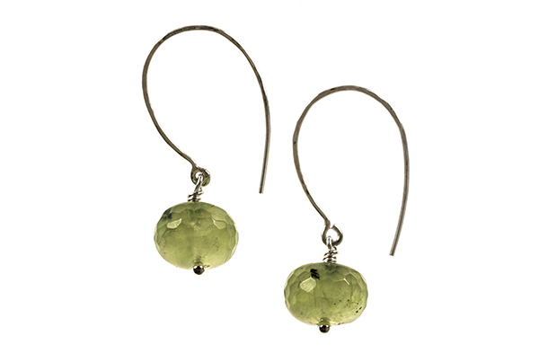 Prinite Faceted Button Earring £35.00