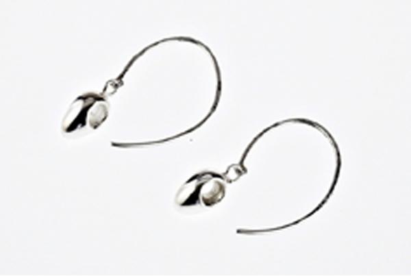 Sterling Silver Egg Drop Earring £38.00