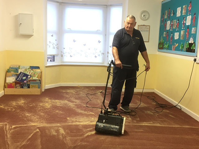 spotless dry carpet cleaning